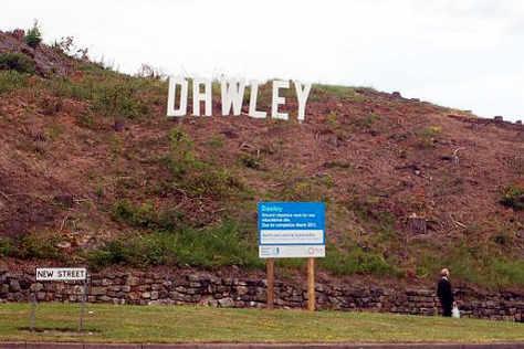 Dawley Mystery Over Hillside Sign Shropshire Star