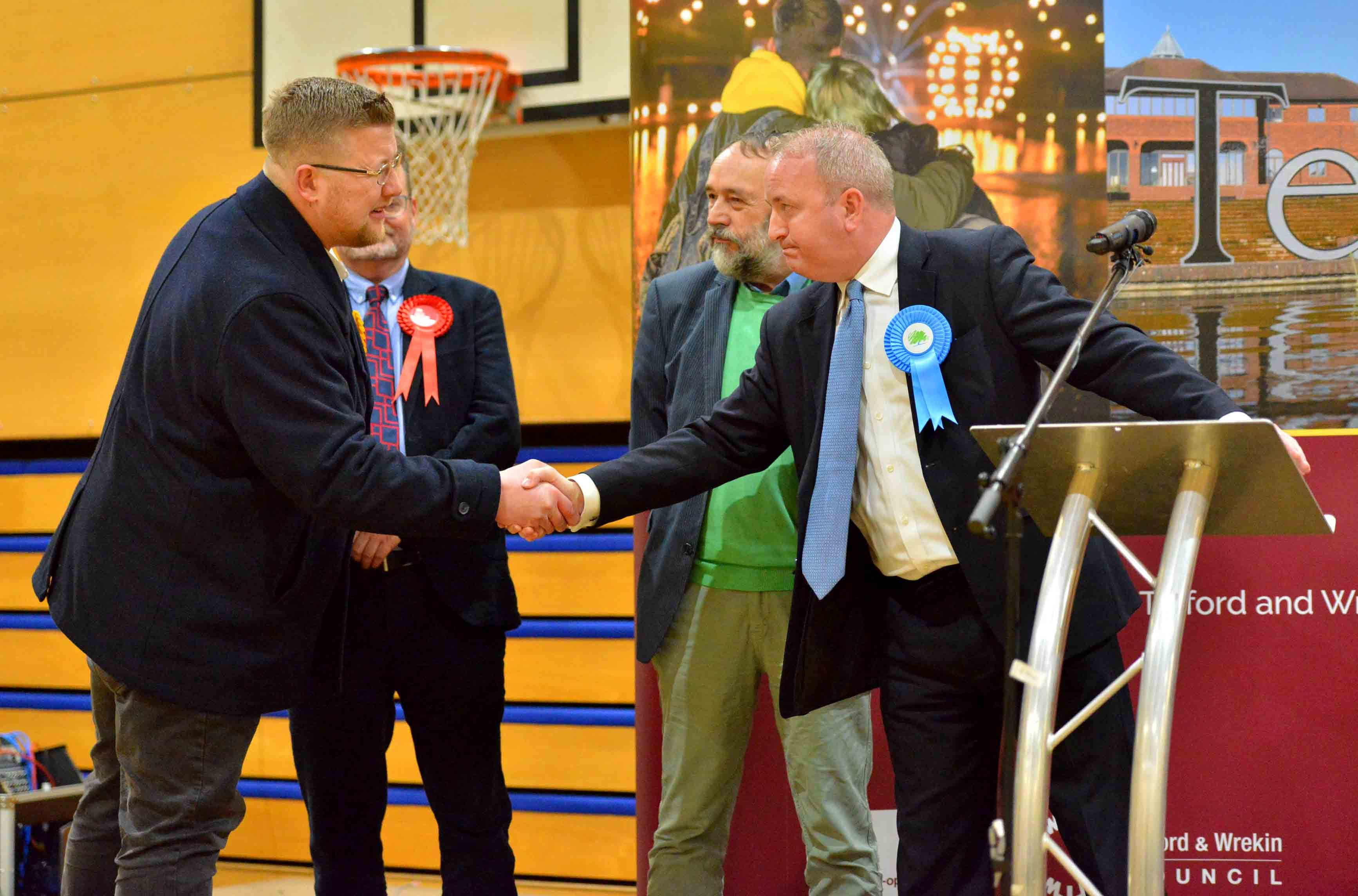 General Election 2019: The Wrekin - Huge majority as Mark Pritchard retains seat for Tories