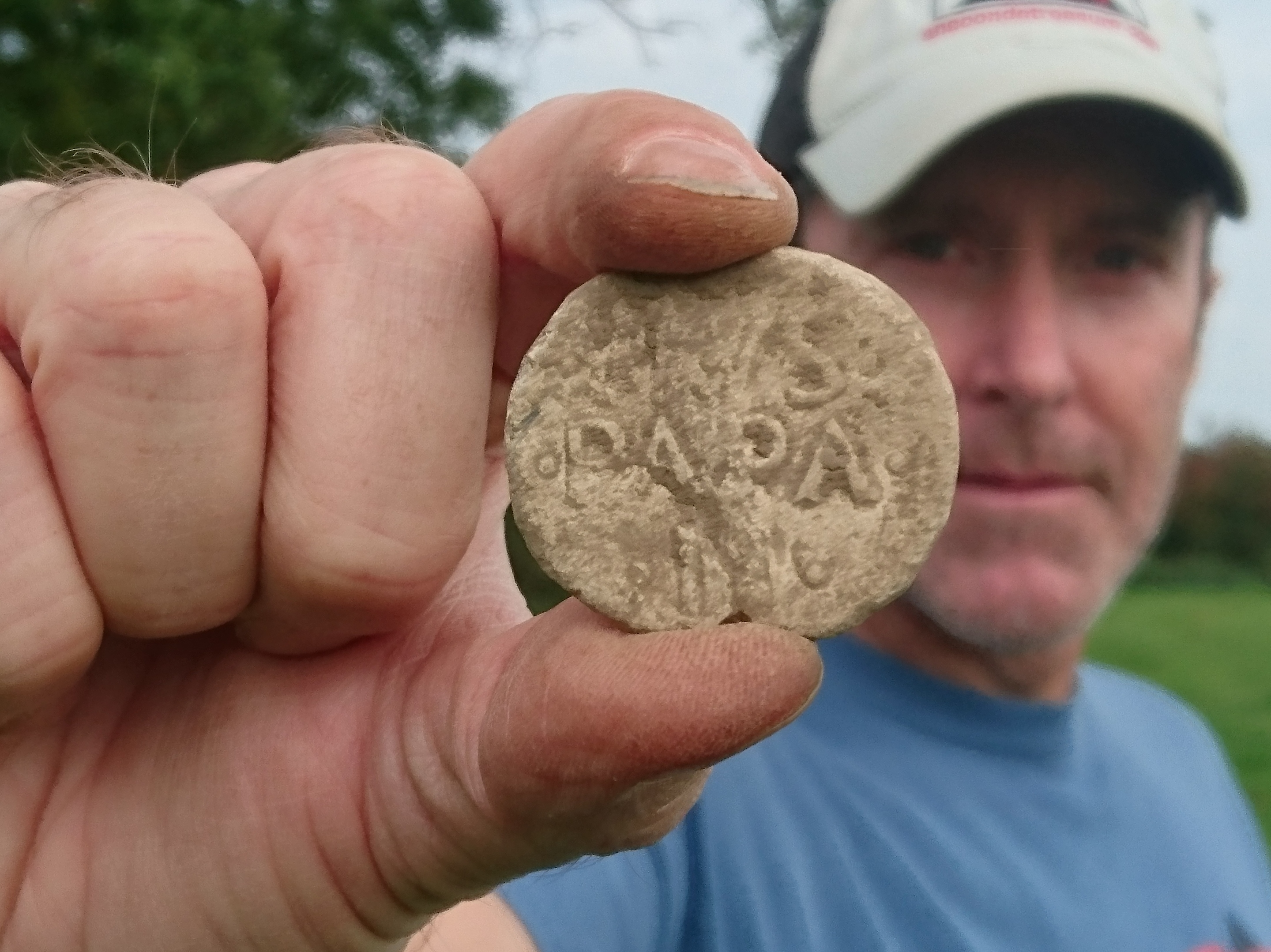 What A Find Medieval Papal Seal Found By Metal Detectorist In Oswestry Shropshire Star