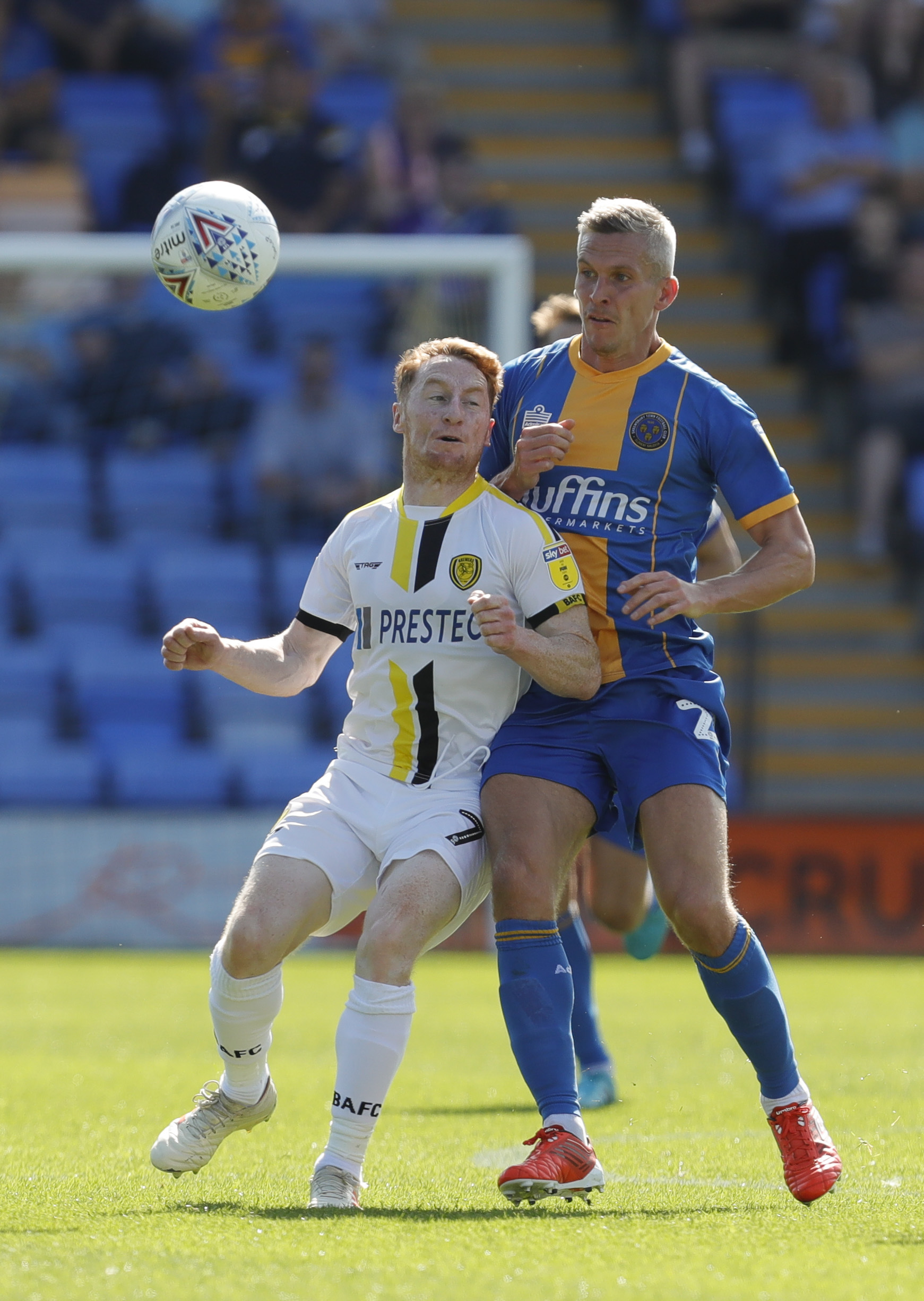 Shrewsbury Town 0 Burton Albion 0 - Report and pictures