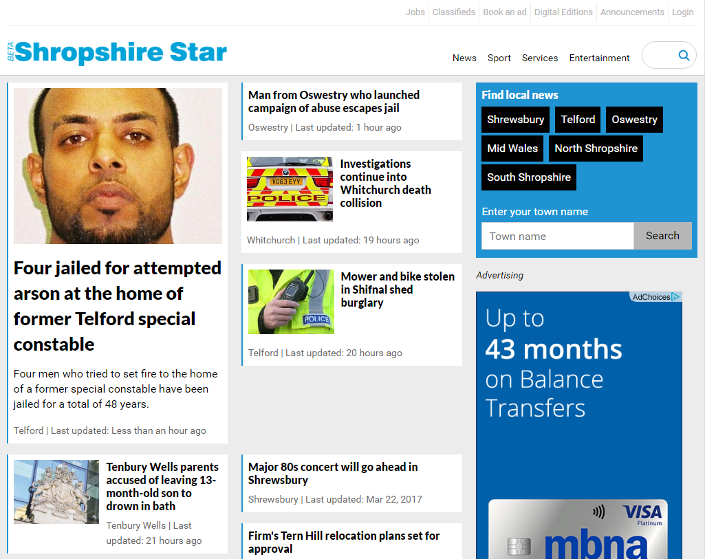 shropshire star dating ads